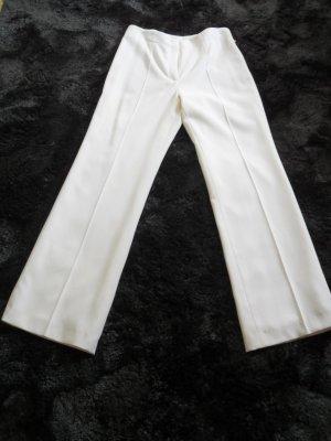 Escada Couture Pantalone a pieghe bianco sporco Lana vergine