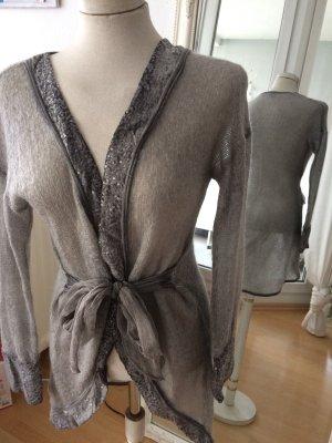 Edle Jacke mit Wolle und Seide