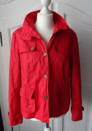 edle Jake*s  Jacke Gr. 42 Rot nur wenige Male getragen