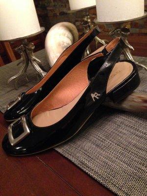 Edle Lackleder Schuhe