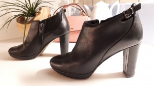 edle Leder Ankle Boots