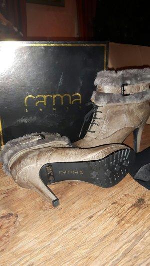 Edle Leder-Stiefeletten von CARMA