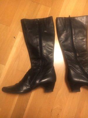 moda in pelle Jackboots black