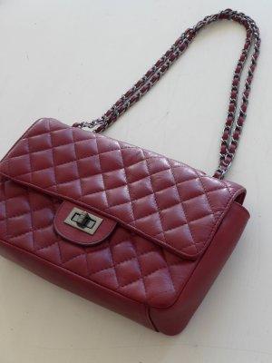 Shoulder Bag bordeaux leather
