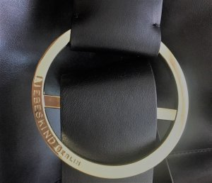 Edle Liebeskind Tasche B Bag Medium Mastrotto Black - Top-Zustand