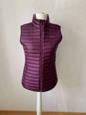 Kjus Quilted Gilet blackberry-red