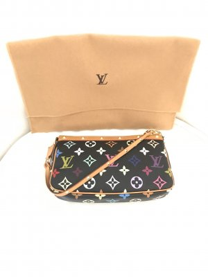 Louis Vuitton Pochette multicolore lin