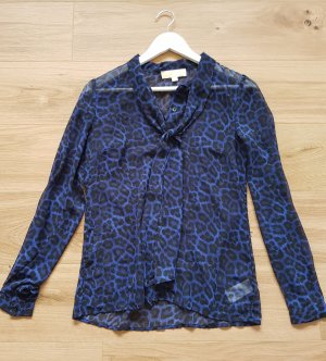 Michael Kors Long Sleeve Blouse blue-black