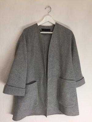 Edle minimalistische Oversized Wolljacke ❤️ handmade ❤️