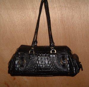 Edle Peter Kaiser-Handtasche - schwarzes Leder