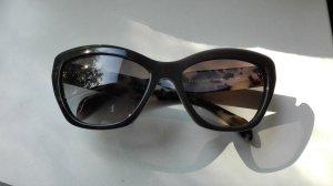 edle Prada Sonnenbrille in anthrazit/grau