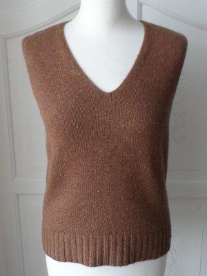 edle Pullunder von feel thirtone Gr. 38 Braun  reine Wolle nur 1 x getragen