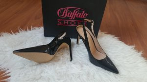edle pumps in lackleder schick