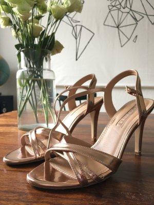 Edle Rose Metallic Heels ❤️ wunderschön❤️