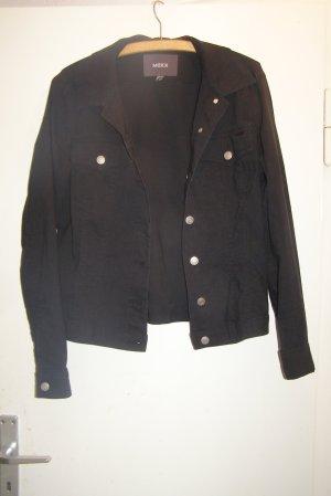 edle schwarze Jacke wie Jeansjacke o. Blazer M