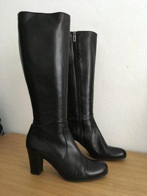 Edle schwarze Stiefel von RICCARDO CARTILLONE BERLIN, Gr.37