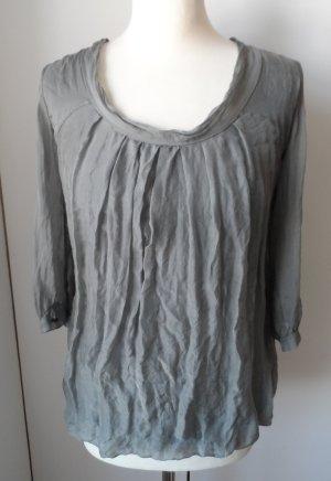 Deichgraf Tunique-blouse gris soie