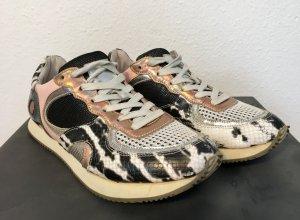 Edle Sneaker in Metallic-Look, Schmid Shoes