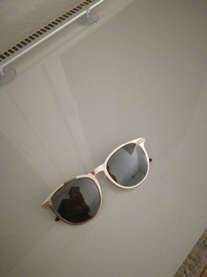 H&M Sunglasses gold-colored-light brown