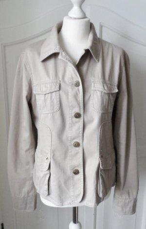 Street One Safari Jacket beige cotton