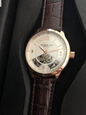 Edle Stührling Original Armbanduhr rosévergoldet