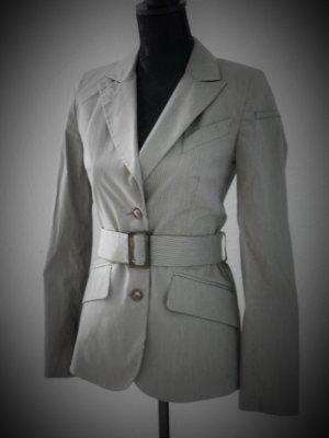 Edle stylische Blazer Streifen Jacke Blogger Karl Moss Style NEU 36