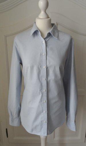 Tommy Hilfiger Blusa de manga larga azul celeste Algodón