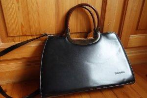 Edle Valentino Leder Handtasche (Henkel / Schultertasche)