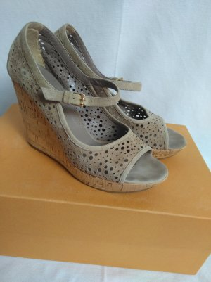 edle Wedges Willeder mit Loch Muster!