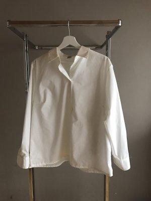 Edle weiße Bluse