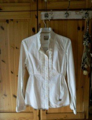 Edle weiße Bluse von Khujo
