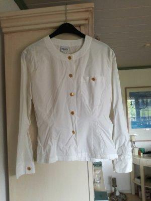edle weiße Bluse von Otto Kern