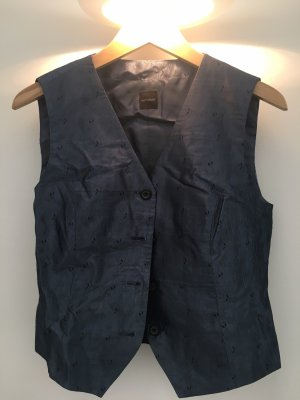 Windsor Reversible Vest grey-dark blue