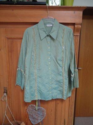 Blusa Crash grigio-verde