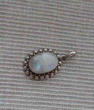 Pendant silver-colored-azure
