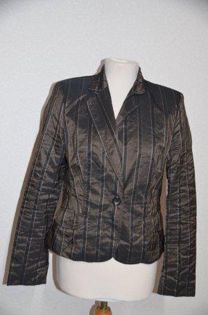 Hirsch Korte blazer donkerbruin-zwart bruin