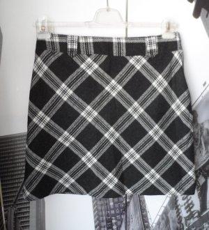 Blue Motion Wool Skirt black-white mixture fibre