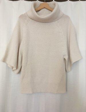 Amisu Jersey de lana blanco puro
