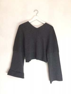 Edler Cropped Wollpullover