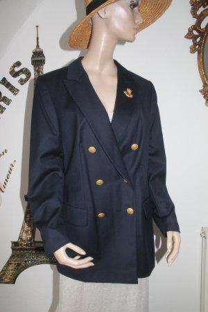 edler dunkelblauer Blazer * Marine - Style * nie getragen * NEU *