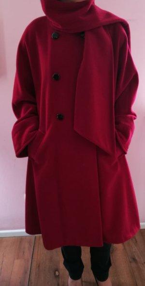 Escada Cappotto invernale rosso