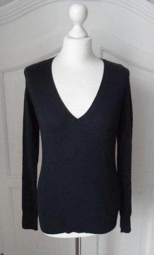 edler ESPRIT Basic Pullover Gr. M Dunkelblau wenig getragen