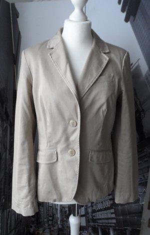 edler ESPRIT Blazer aus Baumwolle Gr.40 Beige 2 x getragen