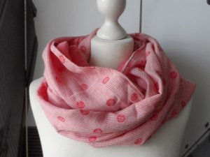 Esprit Snood bright red cotton