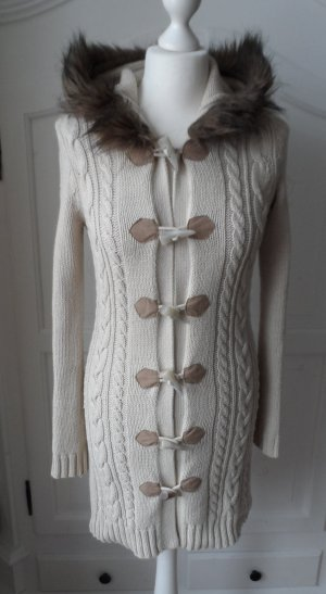 Esprit Coarse Knitted Jacket beige