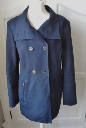edler Esprit Mantel Gr. 42 dunkelblau nur wenig getragen
