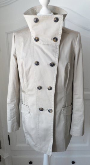 Esprit Heavy Pea Coat beige mixture fibre