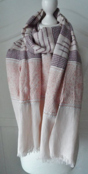 edler Esprit XL Schal Rosa Lila nur wenig getragen