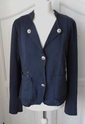 Gina Benotti Sweat Blazer dark blue mixture fibre