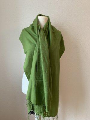 Edler grüner Cashmere Schal von Codello